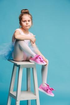 A pequena dançarina de balerina