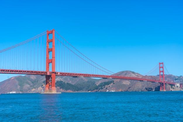 A ponte golden gate em são francisco
