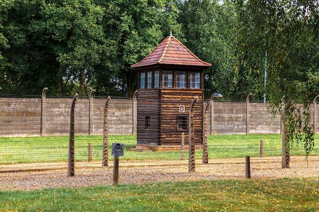 A prisão judaica de auschwitz oswiecim na polônia ocupada durante a segunda guerra mundial e o holocausto