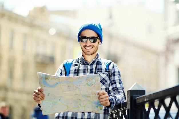 À procura de pontos turísticos