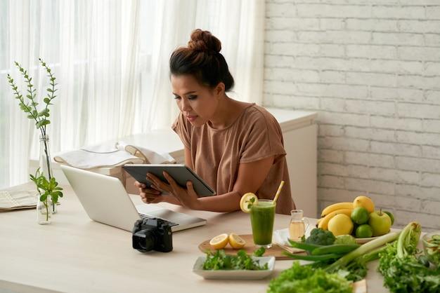 À procura de uma boa receita online