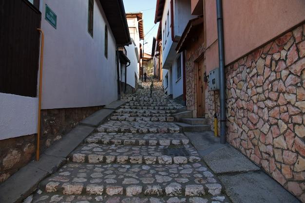 A rua na cidade de sarajevo, bosina e herzegovina