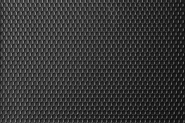 A superfície do metal preto do teste padrão é um fundo da tabela.