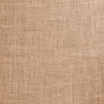 A textura áspera do pano