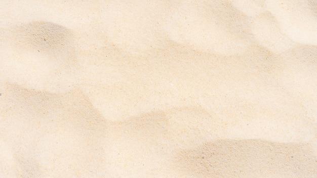 A textura da areia
