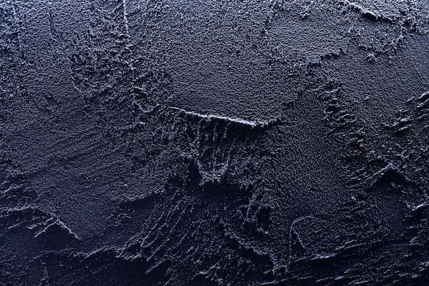 A textura da cor azul do concreto