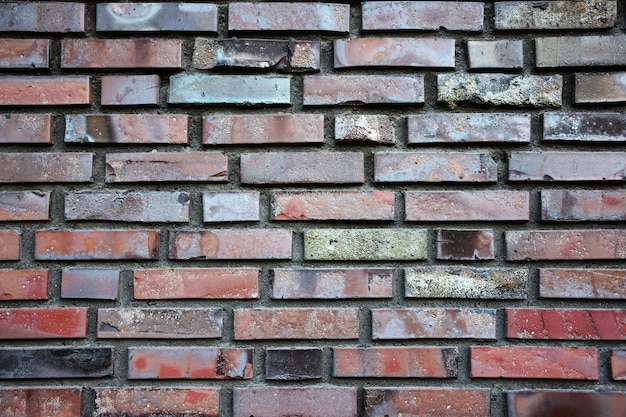 A textura da parede de tijolos, alvenaria, tijolos