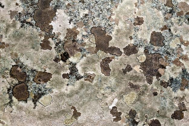 A textura da pedra natural de granito rosa com manchas marrons
