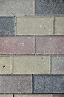 A textura das pedras. telha texturizada de pedra. padrão de pedra na telha.