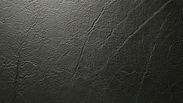 A textura de couro escura e o fundo do teste padrão.