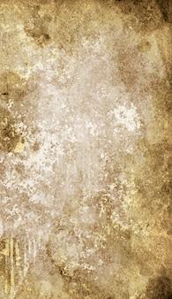 A textura de papel velho e gasto em manchas e manchas para o design