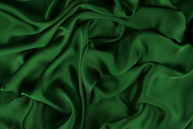 A textura de tecido de seda ou cetim pode ser usada como fundo abstrato. vista do topo.