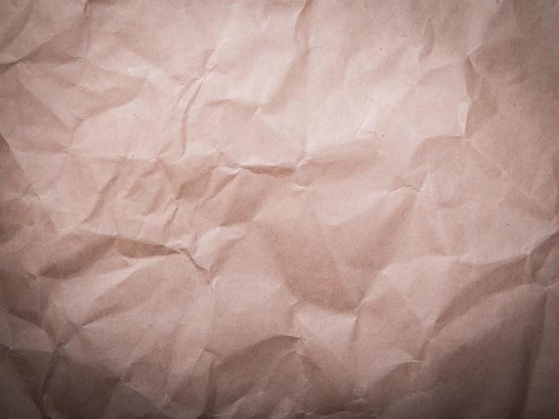 A textura do papelão