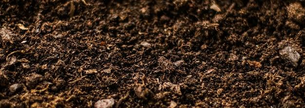A textura do solo da terra como pano de fundo da natureza e do ambiente