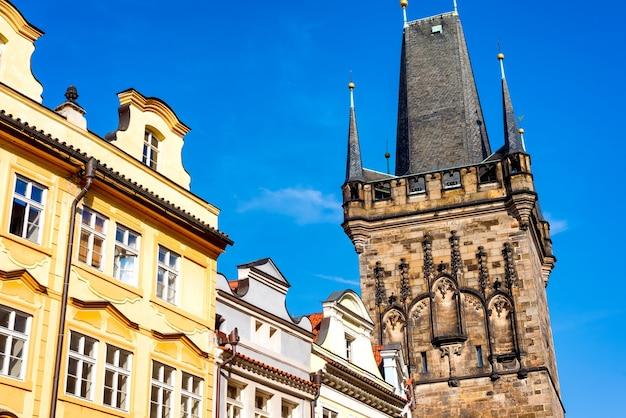 A torre da pólvora. praga, república tcheca