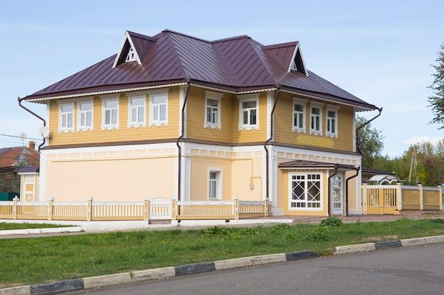 A velha casa dos mercadores russos