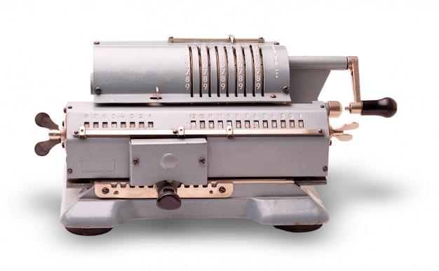 A velha máquina de adicionar