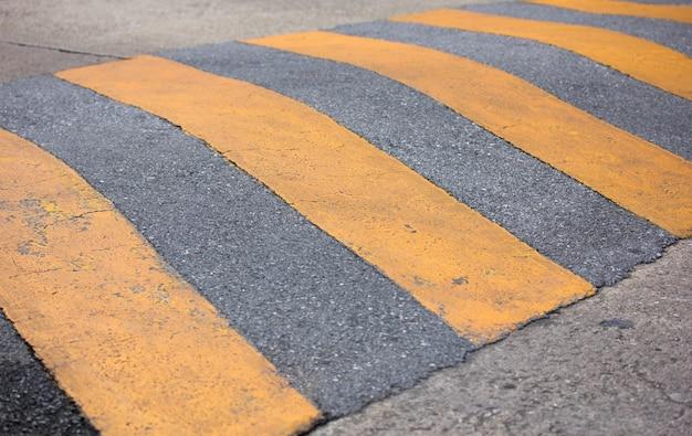A velocidade de trânsito atinge a estrada