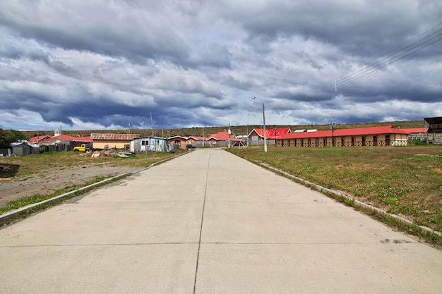A vila na patagônia, chile