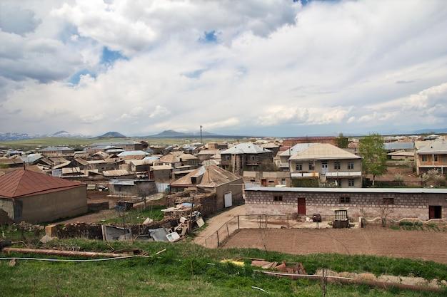 A vila nas montanhas do cáucaso, armênia