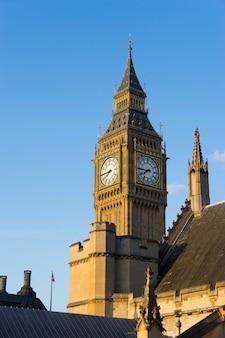 Abadia de big ben e westminster em londres