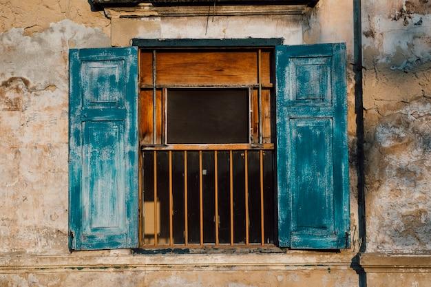 Abandonar parede e janela