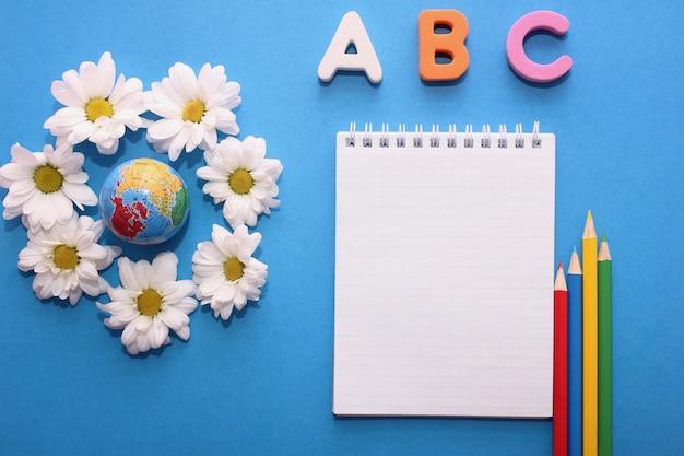 Abc-as primeiras letras do alfabeto inglês