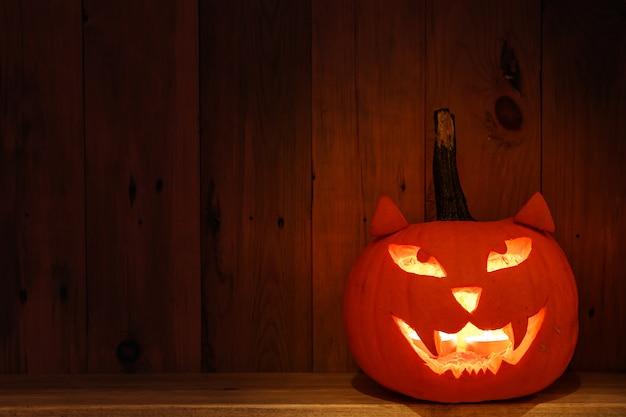 Abóbora artesanal e criativa para o halloween