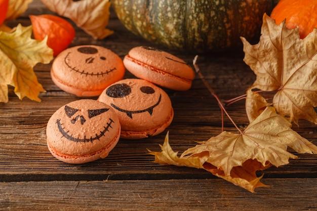 Abóbora de halloween assustador