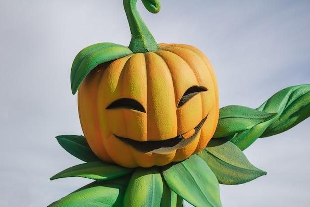 Abóbora de halloween jack-o-latern