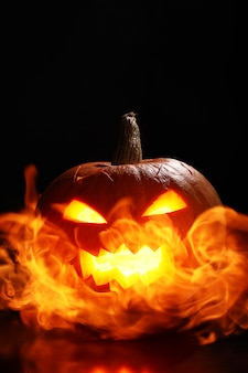 Abóbora em chamas