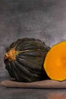 Abóbora típica do peru, também chamada de: zapallo loche ou lambayeque.