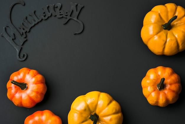 Abóboras frescas de halloween