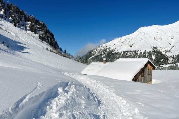 Abrigo na montanha
