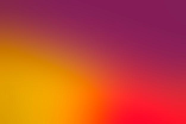 Abstração colorida brilhante com gradiente