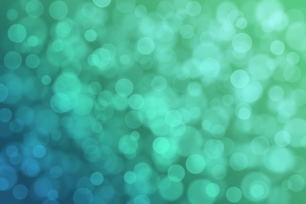 Abstract bokeh background gradient cor brilhante azul e verde