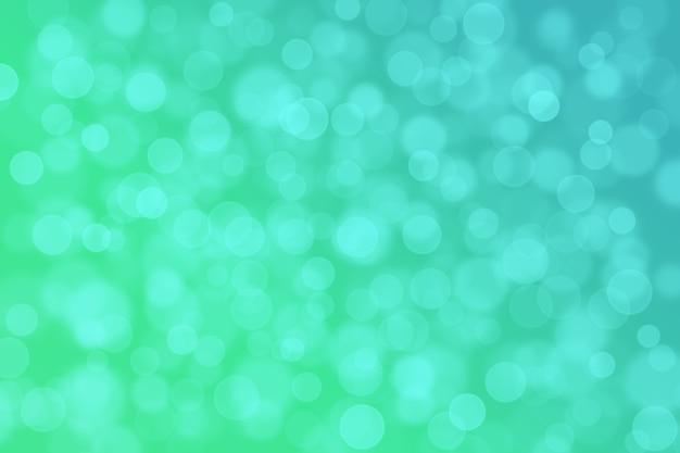 Abstract bokeh background gradiente brilhante cor suave verde e azul