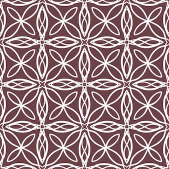 Abstrata sem costura padrão com ornamento de renda ornamental de telha motivo de mosaico. textura para impressão, tecido, têxtil, papel de parede.