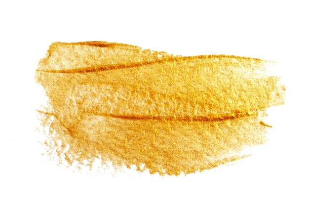 Abstratas manchas de ouro branco