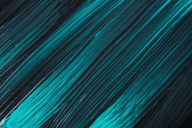 Abstrato arte fundo turquesa e cores pretas. pintura em aquarela com traços azuis. acrílico