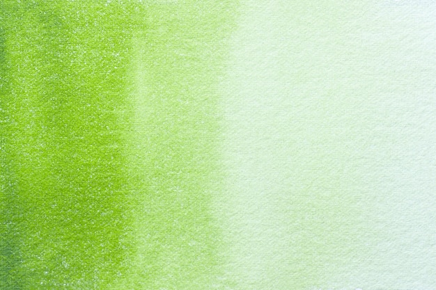 Abstrato arte fundo verde claro e cores oliva. pintura em aquarela sobre tela com gradiente.