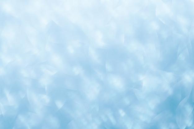 Abstrato azul, cristais brilhantes.