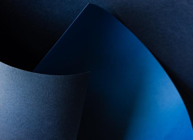 Abstrato azul plano de fundo texturizado com ondas geométricas