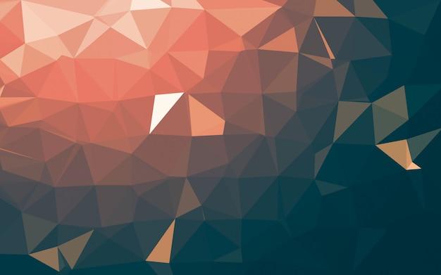 Abstrato baixo poli, triângulo de geometria.