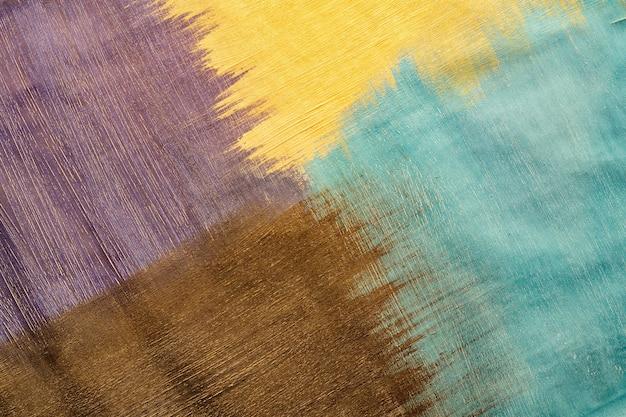 Abstrato base acrílico pintado à mão