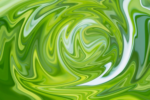 Abstrato base de mármore líquido verde com textura verde para design.