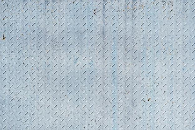 Abstrato base de metal azul branco.