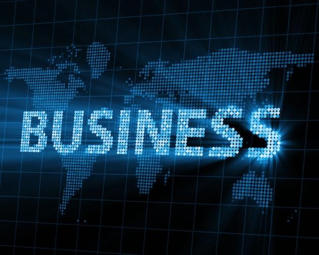 Abstrato base de negócios com raios brilhantes
