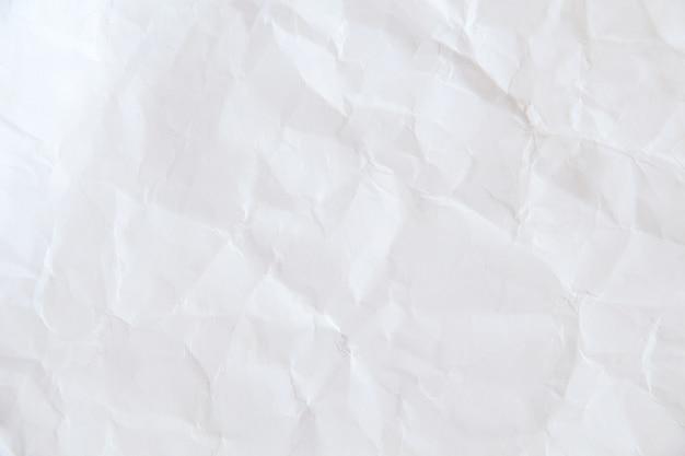 Abstrato base de textura de papel velho, branco papel amassado de fundo