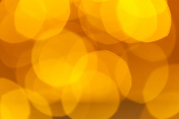 Abstrato bokeh laranja com fundo desfocado.